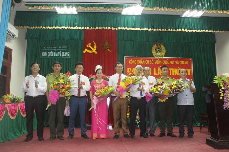 Đại hội Công đoàn VQG Vũ Quang lần thứ XV, nhiệm kỳ 2017 - 2022 thành công tốt đẹp!