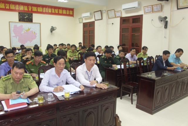 Vườn QG Vũ Quang triển khai phương án bảo vệ rừng, PCCCR 2018