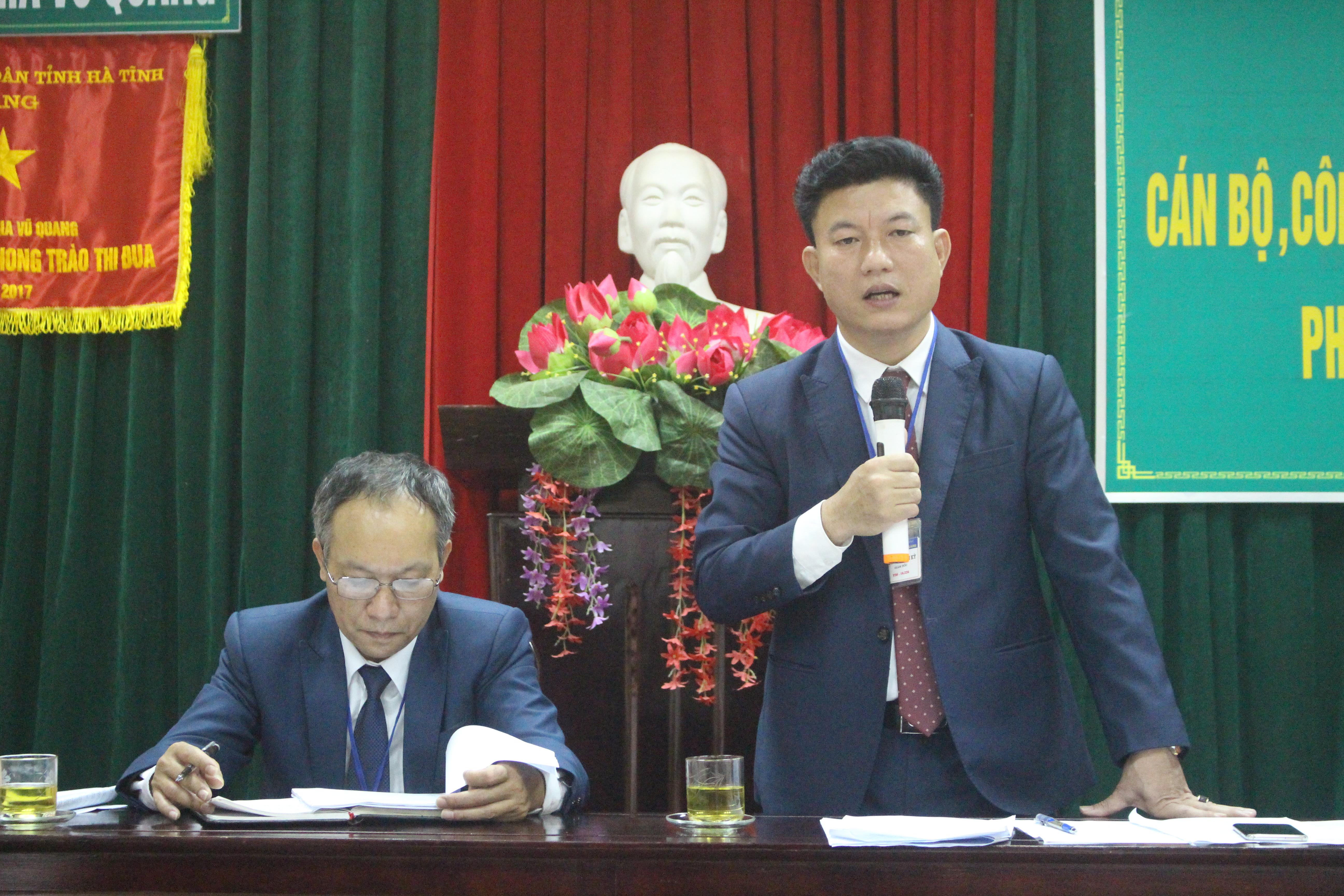 Vườn quốc gia Vũ Quang tổng kết công tác năm 2018, triển khai Kế hoạch năm 2019