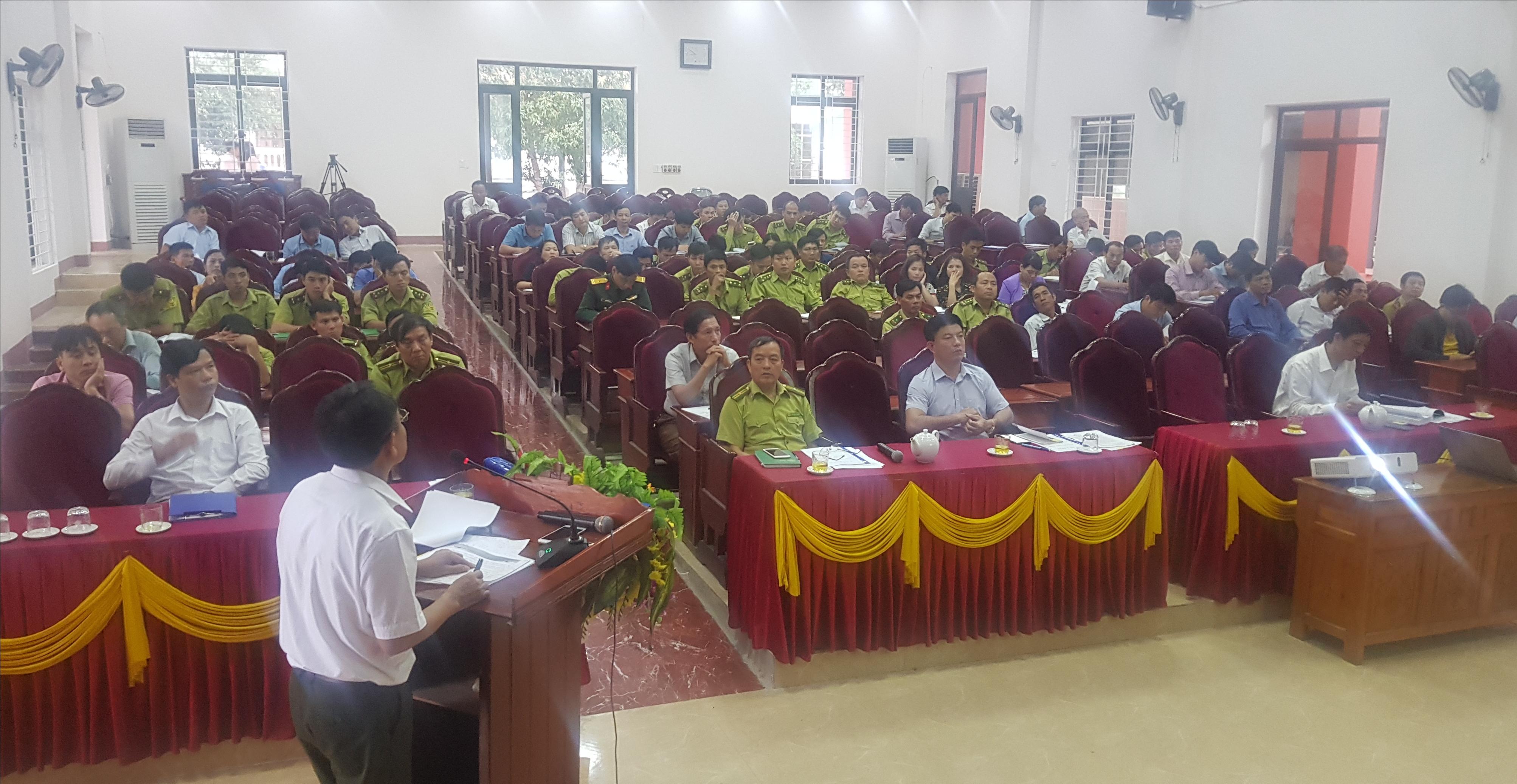 Hội nghị quán triệt, triển khai thi hành Luật Lâm nghiệp