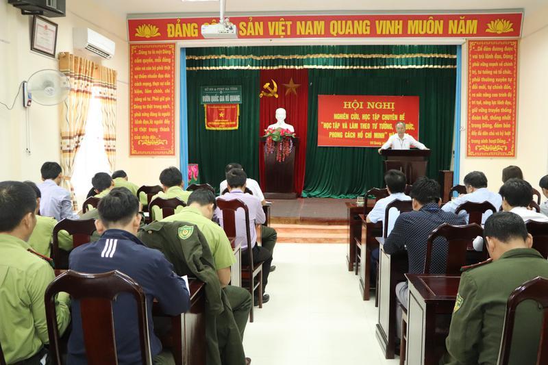 """Hội nghị nghiên cứu, học tập chuyên đề """" Học tập và làm theo tư tưởng, đạo đức, phong cách Hồ Chí Minh"""" năm 2020"""
