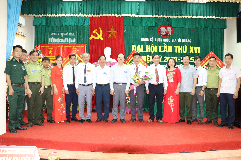 Đại hội Đảng bộ Vườn Quốc Gia Vũ Quang lần thứ XVI, nhiệm kỳ 2020 - 2025