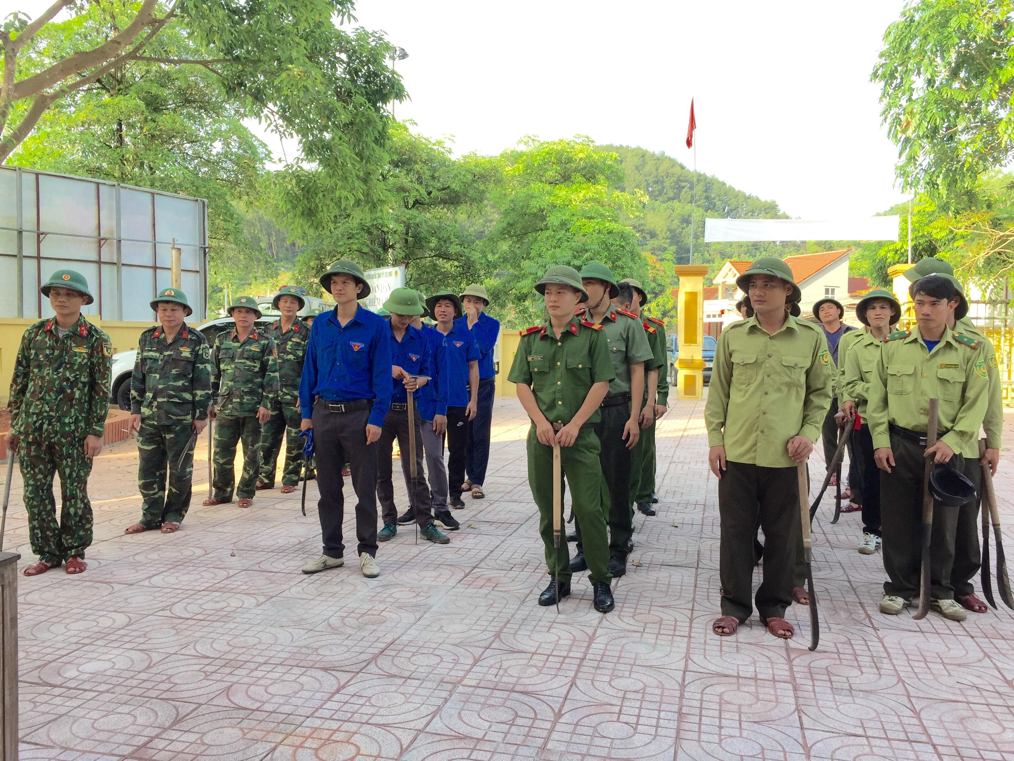 Vườn Quốc gia Vũ Quang nổ lực phòng chống cháy rừng trong mùa nắng nóng