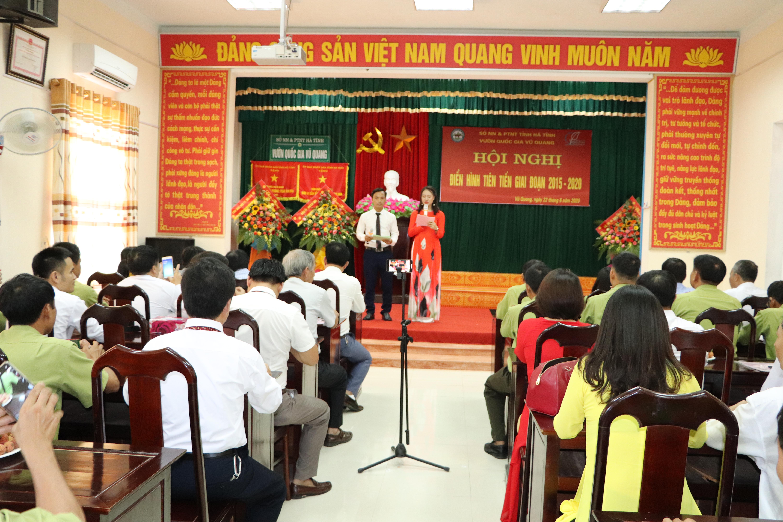 Vườn Quốc gia Vũ Quang tổ chức thành công Hội nghị Điển hình tiên tiến giai đoạn 2015-2020