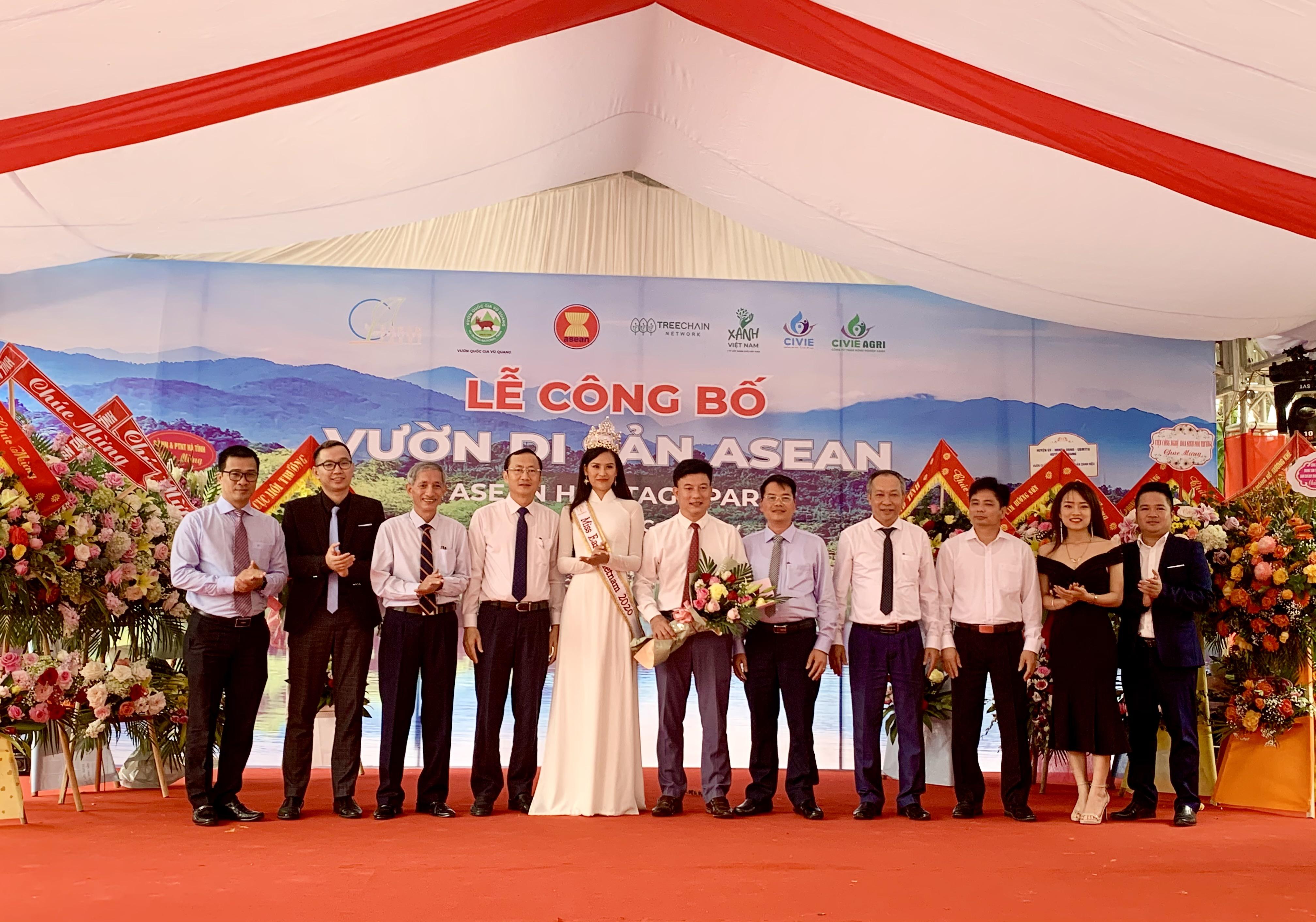 Vườn Quốc gia Vũ Quang tổ chức Lễ đón nhận danh hiệu Vườn di sản ASEAN