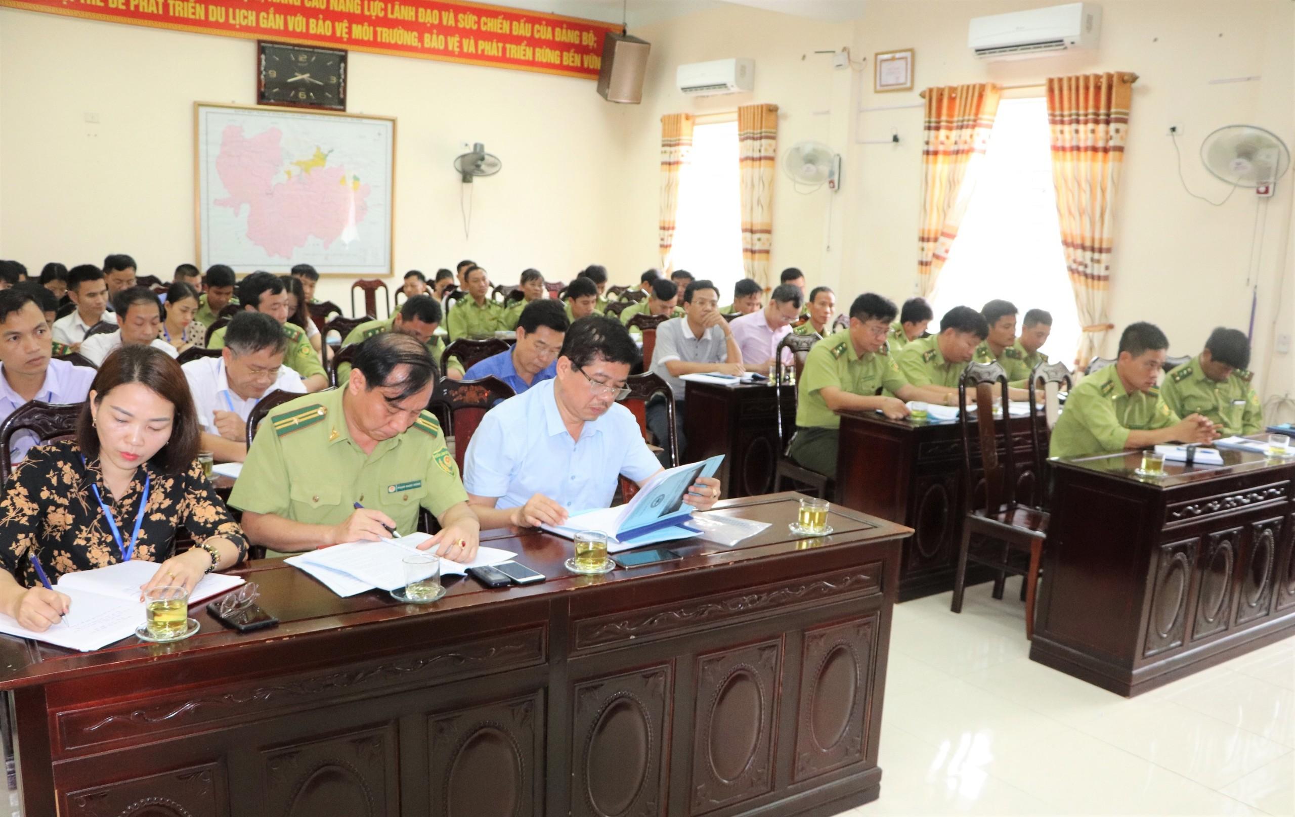 Vườn Quốc gia Vũ Quang tổ chức thành công Hội nghị tổng kết công tác Bảo vệ rừng PCCCR năm 2020 và Triển khai nhiệm vụ năm 2021